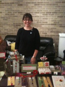 at the INDIEana Handicraft Exchange 10/3/09